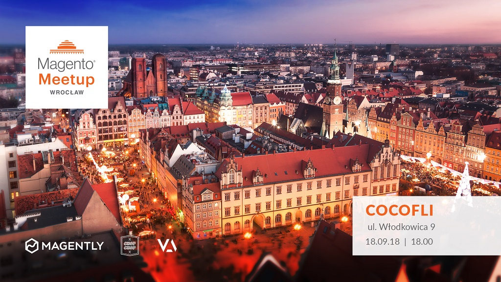 Magento Meetup in Wrocław - Organisers are magento developers: Magently, Virtua together with Chop-Chop - advanced web development company.