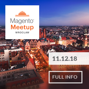 Magento meetup 11.12.2018